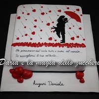 Silhouette cake song Tiziano Ferro