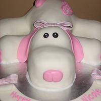 Puppy Dog Cake Birthday Cake