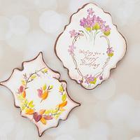 Seasonal Vintage Birthday Cookies