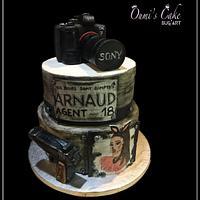 Gâteau appareil photo