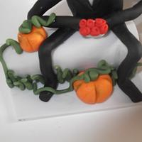 Nightmare before Christmas Cake topper  by Tracey