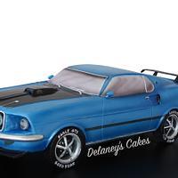 Mustang Fastback car