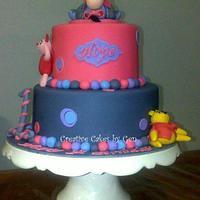 Eeyore themed cake