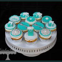 Tiffany Themed Cupcakes