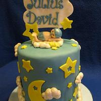 Stars and Moon Welcome Baby