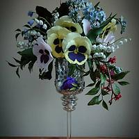 Still Life Florals: Fine Art in Sugar