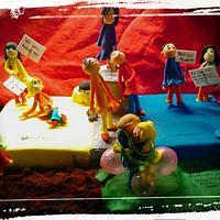 Cake for the summer festival