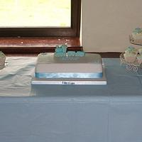 Christening cake by That Cake Lady