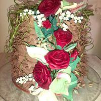 Orle's wedding cake