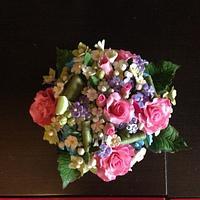 A posy flowers