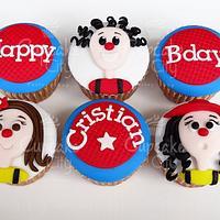 Clowns cupcakes