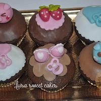 Baby cupcakes by luisasweetcakes