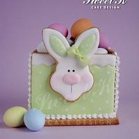 Easter Cookie Box with tutorial
