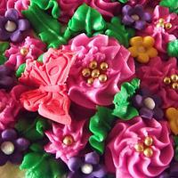 Flowers n Butterflies by Jaimie Pereira