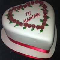 Heart cake by salco
