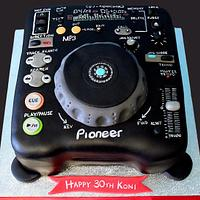 DJ Mixing Deck by Jennifer