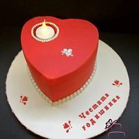 """Cake """"Happy Anniversary"""""""