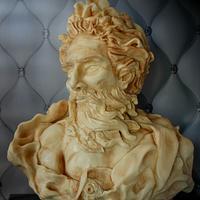ZEUS sculpted cake