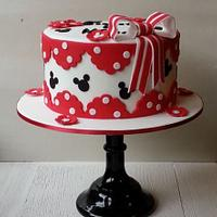 Mickey and Minnie Cake