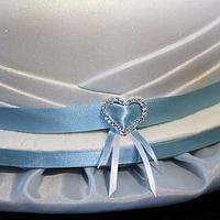 65th Sapphire Wedding Anniversary by Julz Pilkington