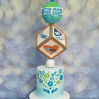 IMU annual dinner cake