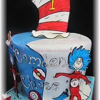 Thing 1 & Thing 2 Themed Birthday by Geelicious Confections