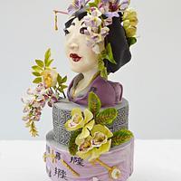 Mousic Arround The World Collaboration- Cake Notes-- Shamisen