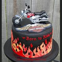 Harley Cake - Born to Ride