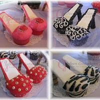 Couture High Heel Cupcakes