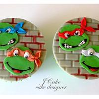 cartoons cupcakes
