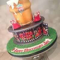 Liverpool FC film reel and beer !