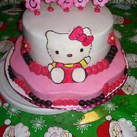 Hello Kitty by AneliaDawnCakes