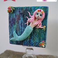 Sugar Skulls - The Cute Mermaid