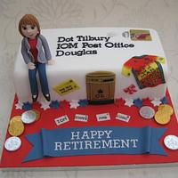 Retirement cake for special lady! by Deborah Cubbon (the4manxies)