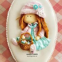 Spring and Easter Girl....