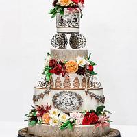 French Provincial OSSAS cake