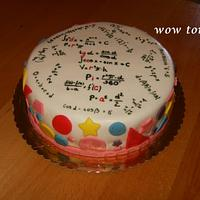 Maths cake