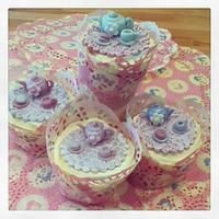 Afternoon tea cupcakes by June purdon