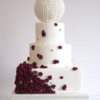 Giambattista Valli Inspired Cake