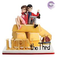 LUPIN THE THIRD - CAKE CON COLLABORATION