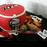 KFC Bucket cake by Take a Bite