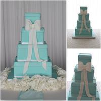 Tiffany Wedding Cake