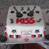 KISS Rockstar Cake