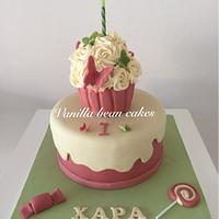 Vantage cupcake cake