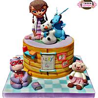 Disney Doc McStuffins and Friends Cake