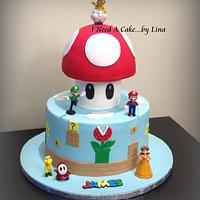 Super Mario for James