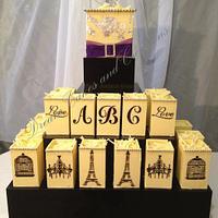 Decadent chocolate boxes