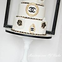 Chanel Couture Cake