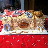 Bale Of Straw Cake