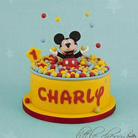 Mickey Mouse Ball Pit Cake